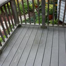More dirty composite deck boards.